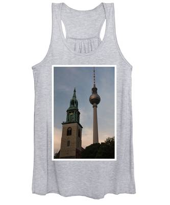 Two Towers In Berlin Women's Tank Top