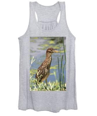 Young Heron Women's Tank Top