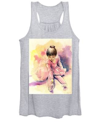 Little Ballerina Women's Tank Top