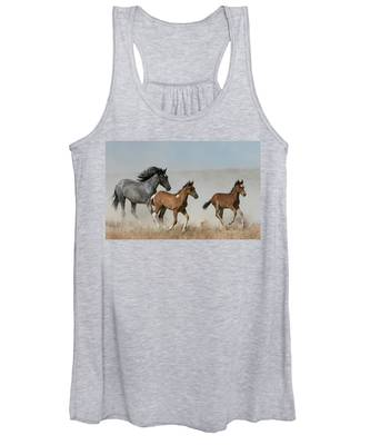 Out Of The Dust Women's Tank Top
