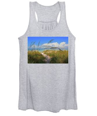 A Day At The Beach Women's Tank Top