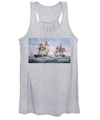 Action Between U.s. Sloop-of-war 'wasp' And H.m. Brig-of-war 'frolic' Women's Tank Top