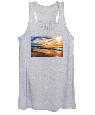 Afternoon At The Beach Women's Tank Top