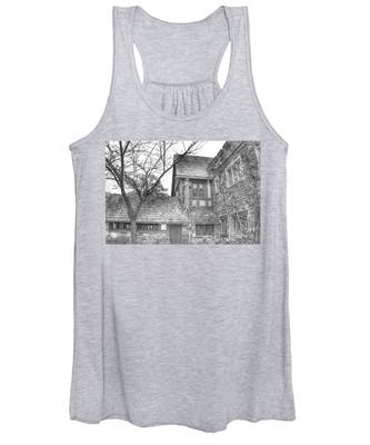 Annex At Ringwood Manor With Tree Women's Tank Top
