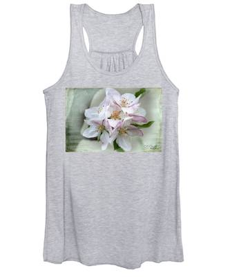 Apple Blossoms From My Hepburn Garden Women's Tank Top