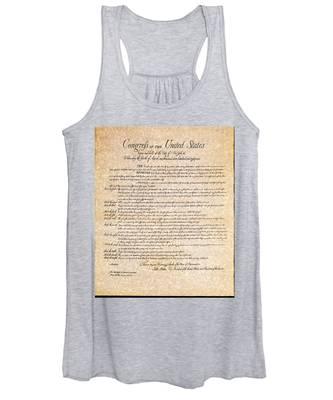Bill Of Rights Women's Tank Top