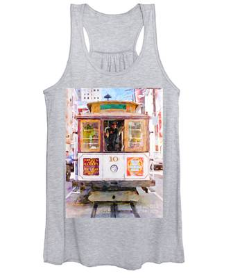 Cable Car No. 10 Women's Tank Top