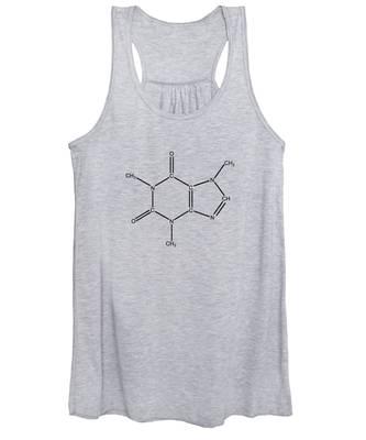 Caffeine Molecular Structure Vintage Women's Tank Top