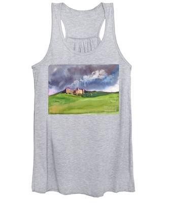Castle Under Clouds Women's Tank Top
