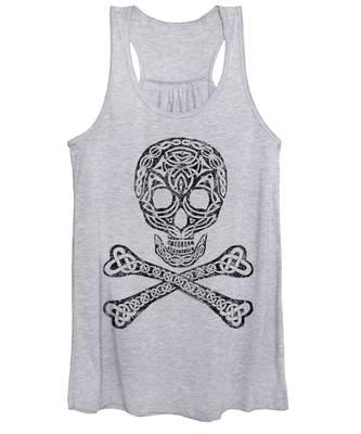 Celtic Skull And Crossbones Women's Tank Top
