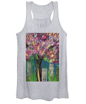 Cherry Blossom Too Women's Tank Top