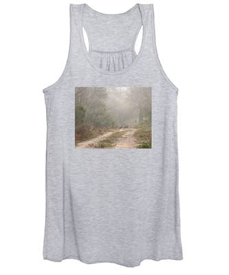 Country Road In The Morning Women's Tank Top