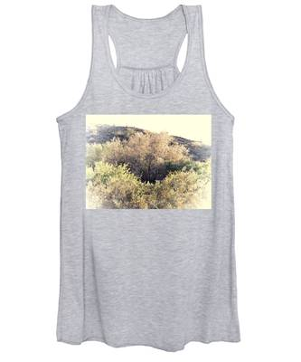 Women's Tank Top featuring the photograph Desert Ironwood Afternoon by Judy Kennedy