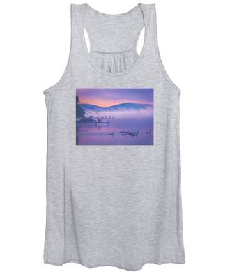 Ducks Under Fog Women's Tank Top