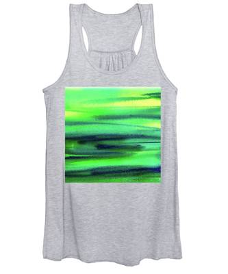 Light Pattern Women's Tank Tops
