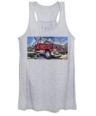 Firemen Honor And Sacrifice #2 Women's Tank Top