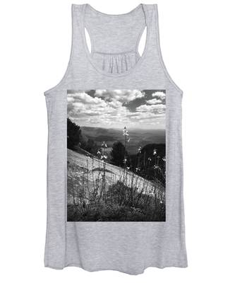 Flowers At The Top Of Table Rock Trail Women's Tank Top