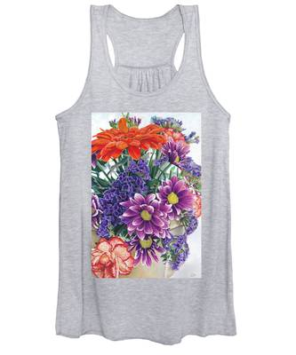 Flowers From Daughter Women's Tank Top