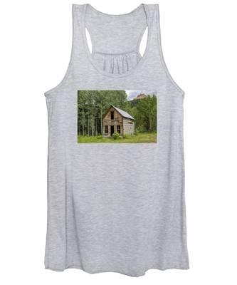 Ghost Town Schoolhouse Women's Tank Top