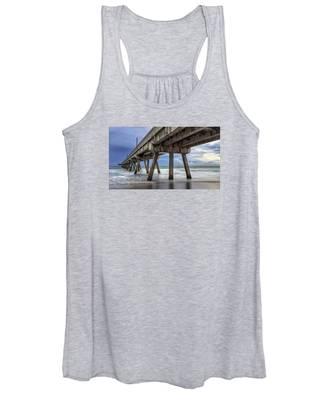 Gloomy Pier Women's Tank Top