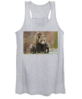 Grizzly Family Women's Tank Top