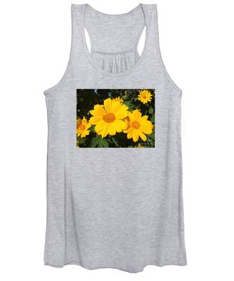 Happy Yellow Women's Tank Top