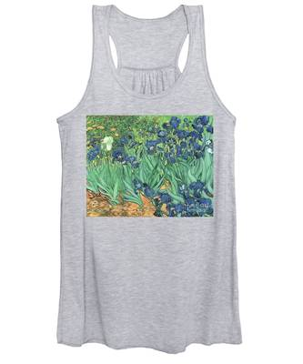 Irises Women's Tank Top