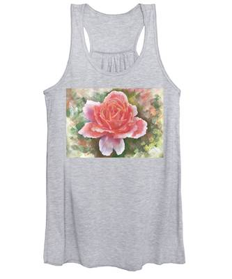 Just Joey Rose From The Acrylic Painting Women's Tank Top