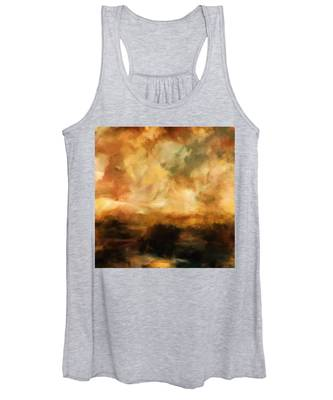 Landscape At Sunset Women's Tank Top