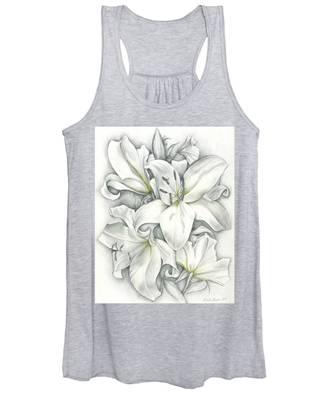 Lilies Pencil Women's Tank Top