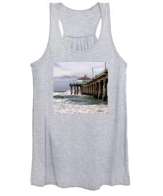 Manhattan Pier Surf Women's Tank Top