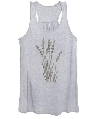 Lavender Women's Tank Tops