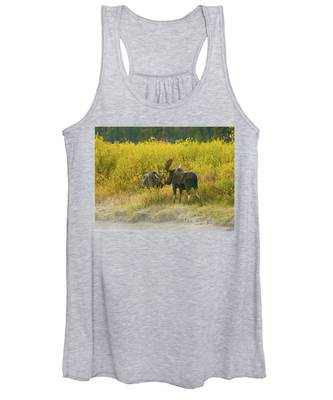 Moose Couple Women's Tank Top