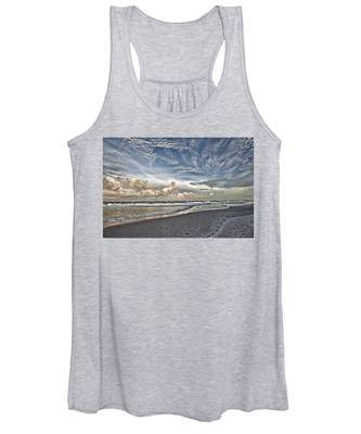 Morning Sky At The Beach Women's Tank Top