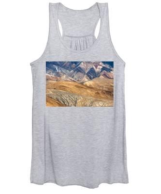 Mountain Abstract 4 Women's Tank Top