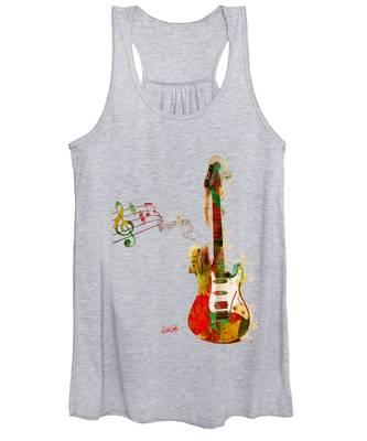 My Guitar Can Sing Women's Tank Top
