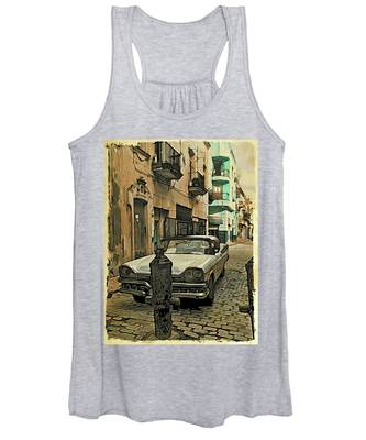 Parked Women's Tank Top by Alice Gipson