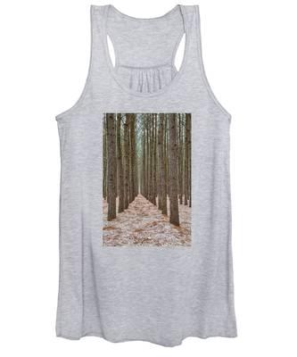 Peaceful Pines Women's Tank Top