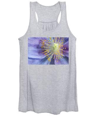 Poppy Fireworks Women's Tank Top