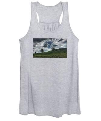 Rain Clouds Women's Tank Top
