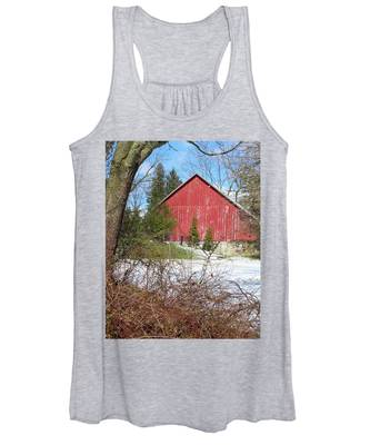 Red Barn Women's Tank Top