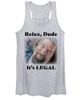 Relax, Dude Women's Tank Top