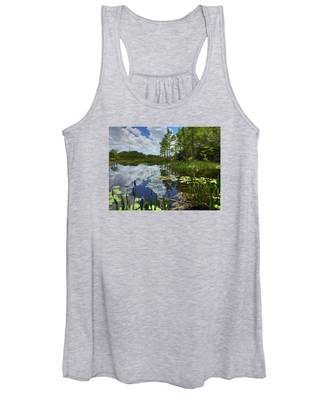 River Of Calm Women's Tank Top