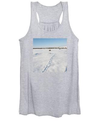 Snow Tracks Women's Tank Top