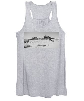 South Hessary Tor In The Snow Women's Tank Top