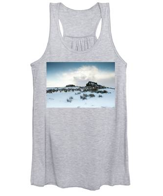 South Hessary Tor In The Snow II Women's Tank Top