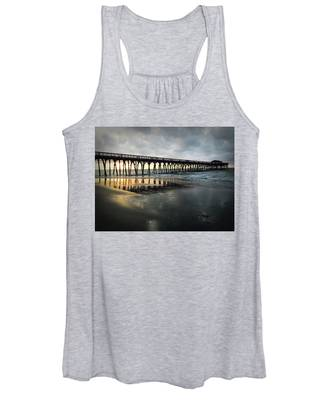 Storm At Sunrise In Color Women's Tank Top