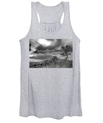 Stormy Sky At The Ranch Women's Tank Top
