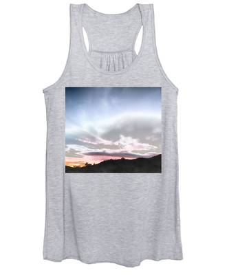 Women's Tank Top featuring the photograph Submarine In The Sky by Judy Kennedy