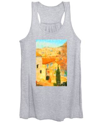 Summer In Athens Women's Tank Top